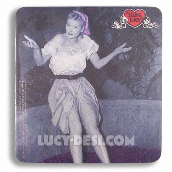 I Love Lucy Mouse Pad - Grape