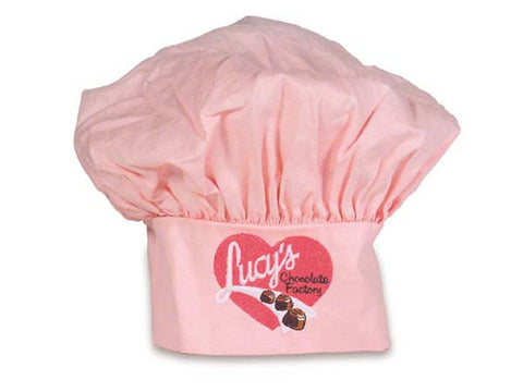 I Love Lucy Hat - Chef Pink