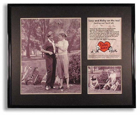 I Love Lucy Picture - Golfing