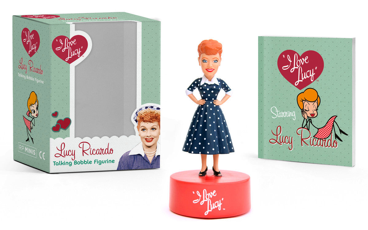 Lucy Ricardo Talking Bobble