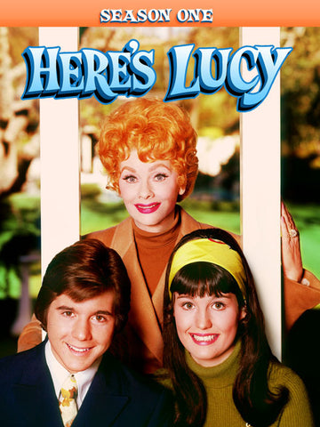 Here's Lucy Season 1 DVD