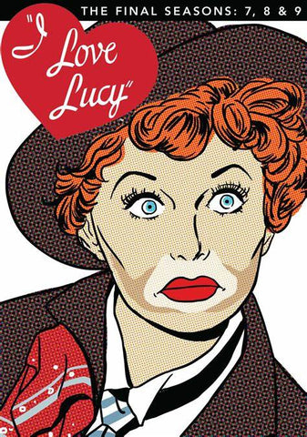 I Love Lucy: The Final Seasons 7, 8, & 9 DVD