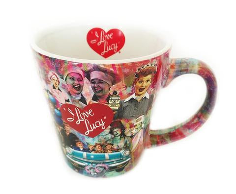 Lucy & Friends Collage Mug