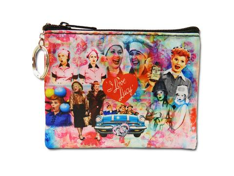 I Love Lucy: Lucy & Friends Collage Coin Purse