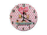 I Love Lucy's CF Polka Dot Clock