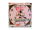 "I Love Lucy: ""Job Switching"" Polka Dot Clock"