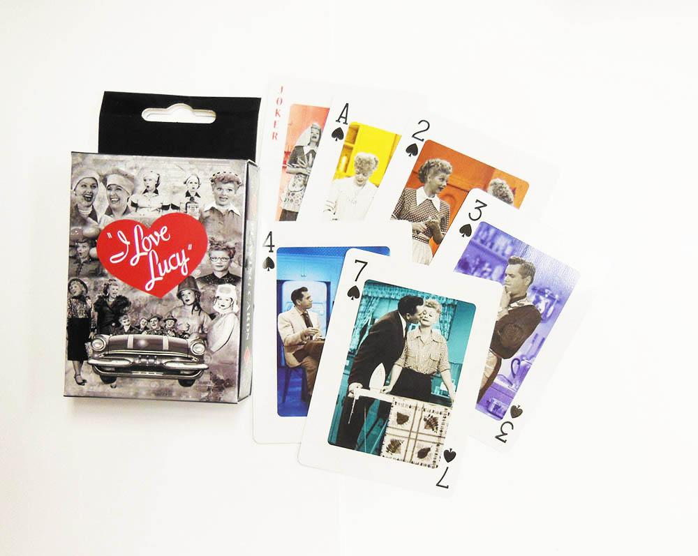 I Love Lucy Playing Cards