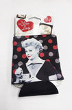 I Love Lucy: Black & Red Koozie