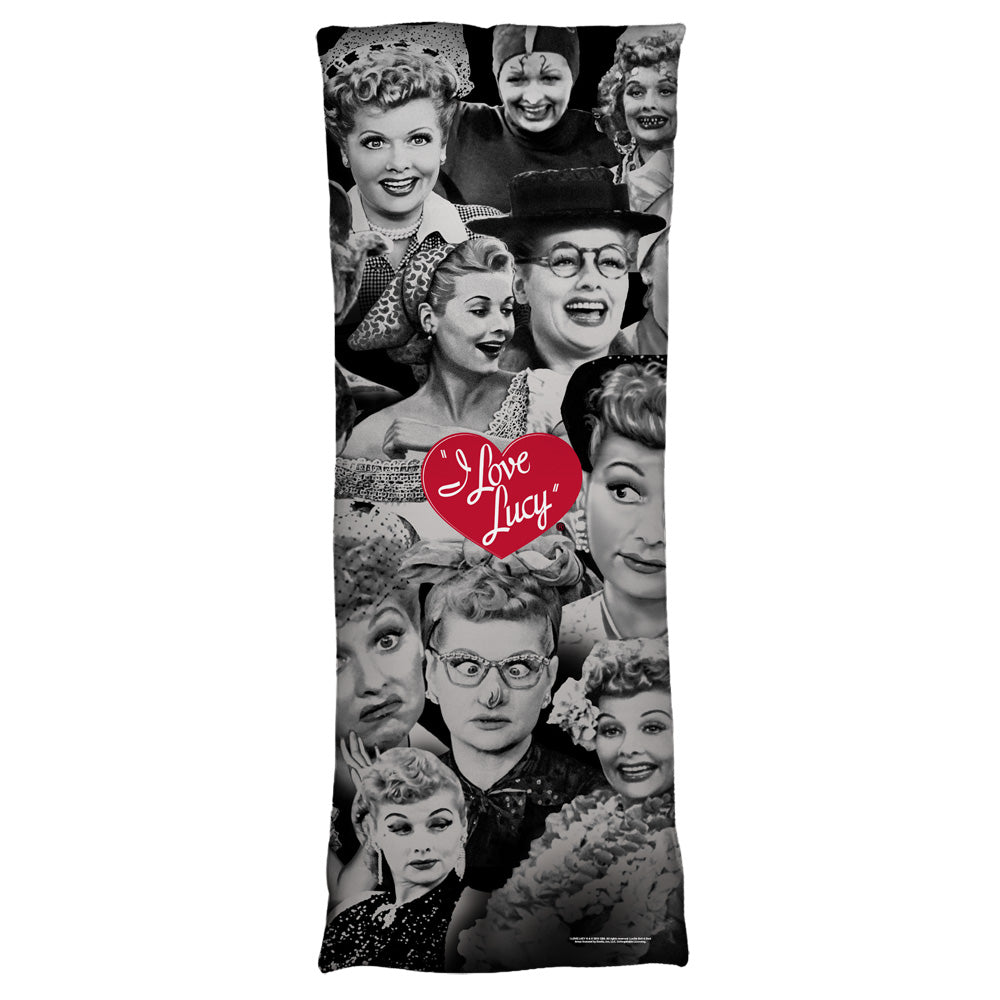 I Love Lucy: Faces Body Pillow