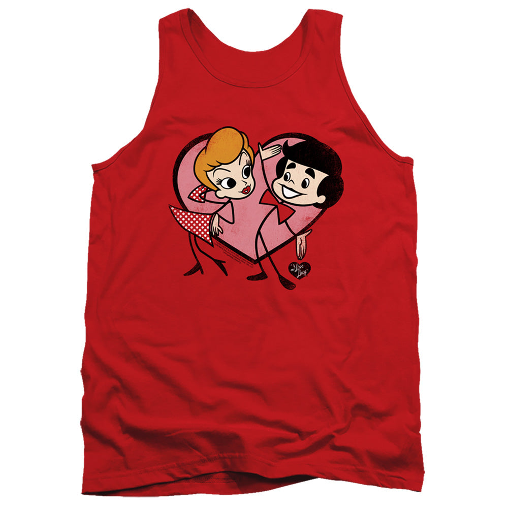 I Love Lucy: Cartoon Love Shirt
