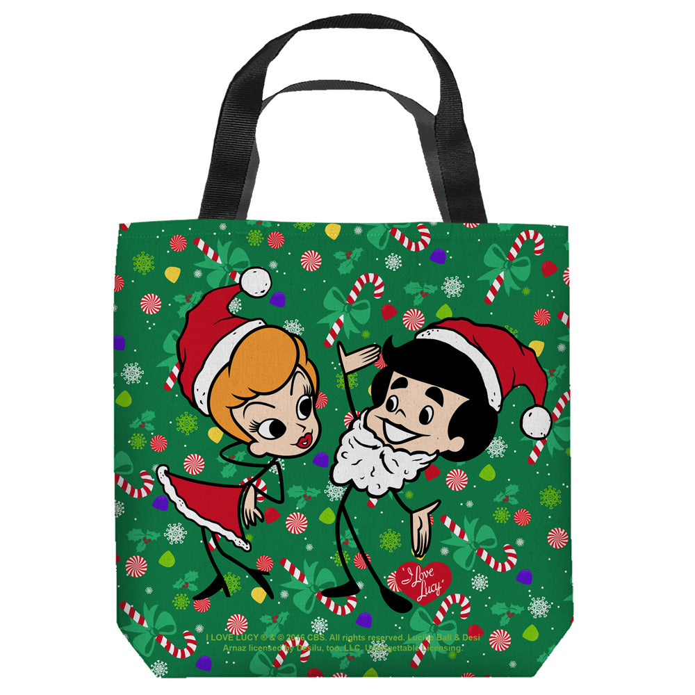 I Love Lucy: Holiday Dance Tote Bag