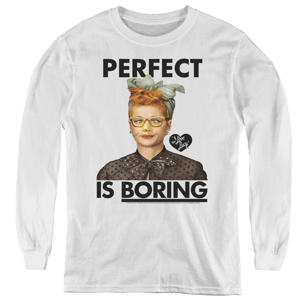 I Love Lucy: Perfect Is Boring Shirt