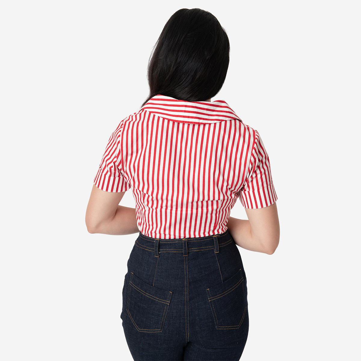 I Love Lucy x Unique Vintage: The Little Ricky Striped Blouse
