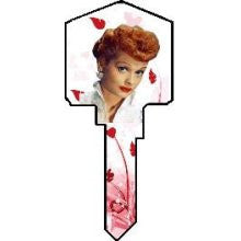 Lucille Ball Key Blank