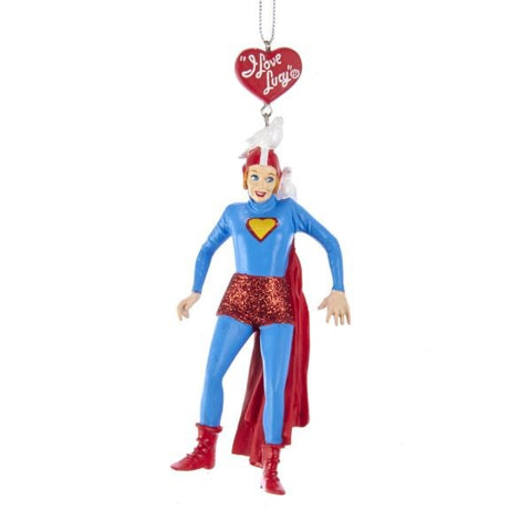 Lucy as SuperLucy Ornament