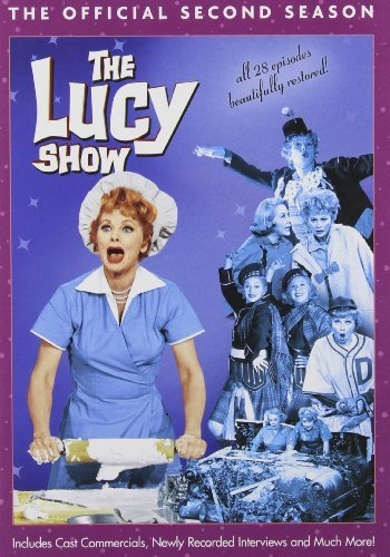 The Lucy Show: The Official Second Season DVD