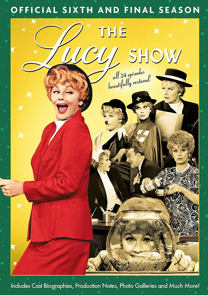 The Lucy Show: Official Sixth and Final Season DVD