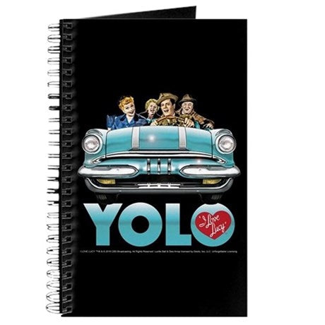 I Love Lucy California YOLO Journal