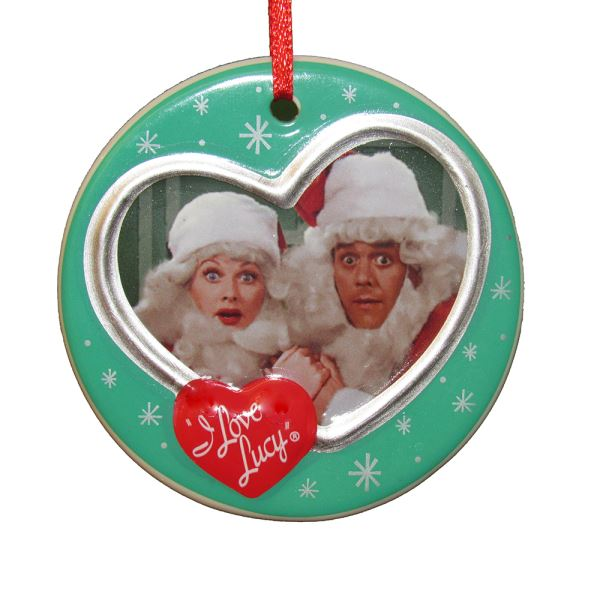 I Love Lucy: Lucy & Ricky Santa Ornament