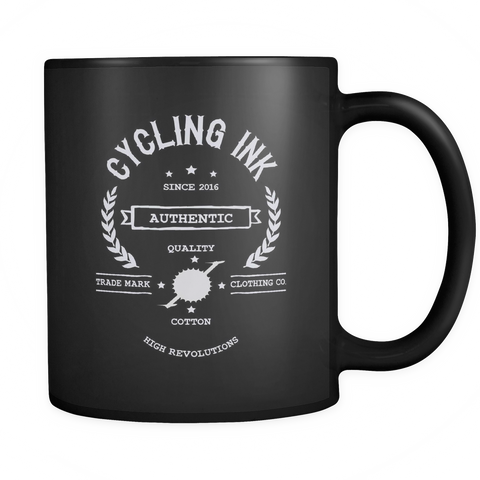 High Revolutions Logo Mug - Cycling T-Shirt Drinkware - T-Shirt Hoodie Clothes Mugs Cyclist Fashion ShirtCycling Ink - Cycling Ink