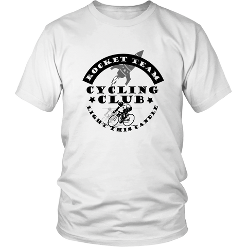 Rocket Team Tee - Cycling T-Shirt T-shirt - T-Shirt Hoodie Clothes Mugs Cyclist Fashion ShirtCycling Ink - Cycling Ink