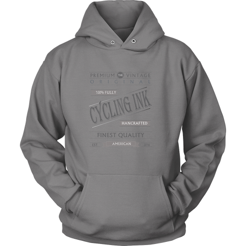 Premium Cycling Ink Logo Hoodie - Cycling T-Shirt Hoodie - T-Shirt Hoodie Clothes Mugs Cyclist Fashion ShirtCycling Ink - Cycling Ink