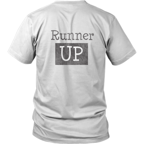 Runner Up Tee - Cycling T-Shirt T-shirt - T-Shirt Hoodie Clothes Mugs Cyclist Fashion ShirtCycling Ink - Cycling Ink