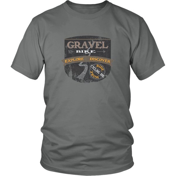 Gravel Bike T-Shirt Grey