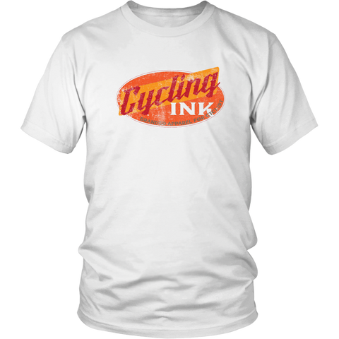 Cycling Ink Branded Apparel T-shirt for cyclist