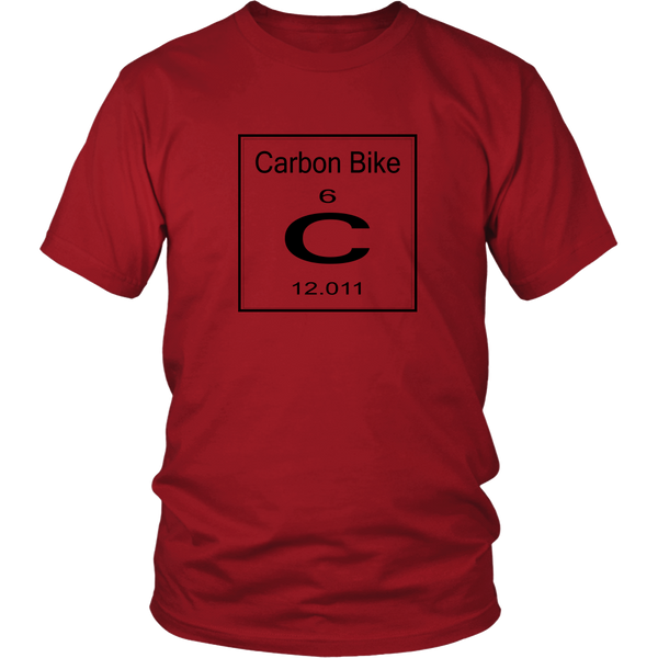 Periodic Carbon Bike T-shirt cycling red