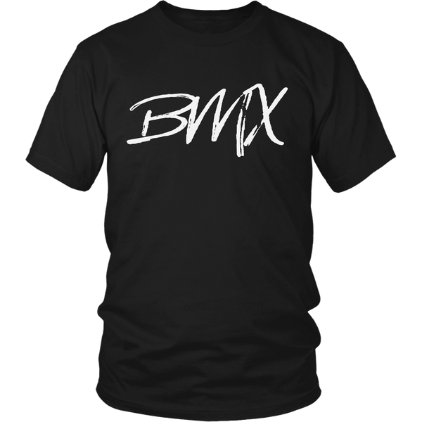 BMX Cycling Racing Rider T-Shirt Black