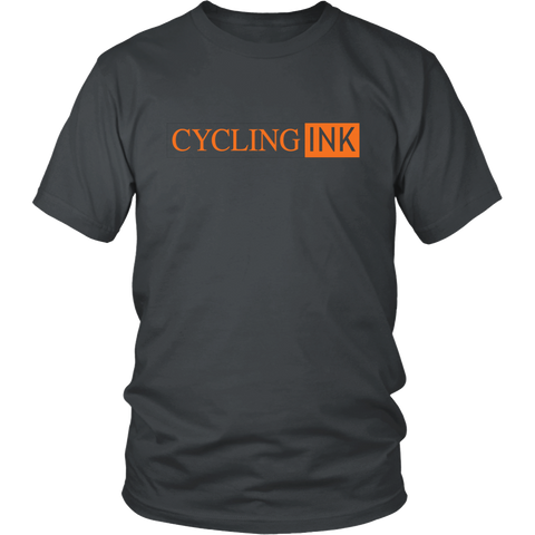 Inked Tee - Cycling T-Shirt T-shirt - T-Shirt Hoodie Clothes Mugs Cyclist Fashion ShirtCycling Ink - Cycling Ink