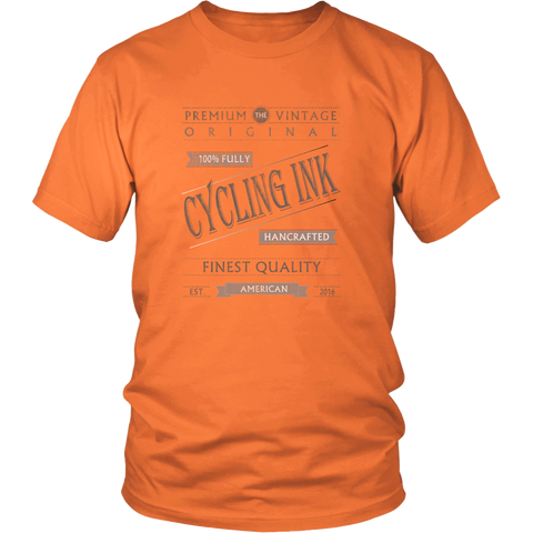 Premium Cycling Ink Logo Tee - Cycling T-Shirt T-shirt - T-Shirt Hoodie Clothes Mugs Cyclist Fashion ShirtCycling Ink - Cycling Ink