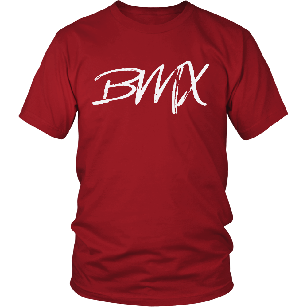 BMX Cycling Racing Rider T-shirt Red