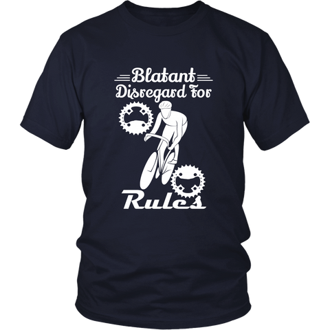 Blantant Disregard T-Shirt - Cycling T-Shirt T-shirt - T-Shirt Hoodie Clothes Mugs Cyclist Fashion ShirtCycling Ink - Cycling Ink