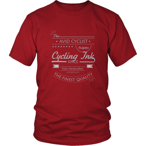 Avid Cyclist Tee - Cycling T-Shirt T-shirt - T-Shirt Hoodie Clothes Mugs Cyclist Fashion ShirtCycling Ink - Cycling Ink