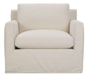 Sylvie Slipcover Chair