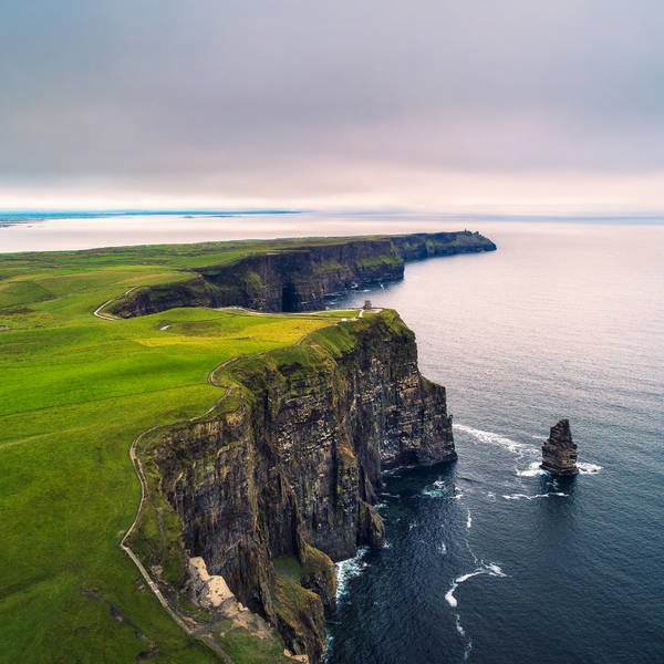 The Cliffs of Moher - a must see in Ireland