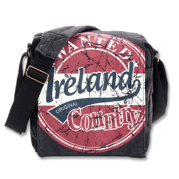 Ireland Wanted Messenger Bag - Small - Red, Blue or Green