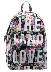 Robin Ruth Ireland Flower Backpack Black