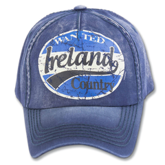 Robin Ruth Ireland Wanted Cap - Blue