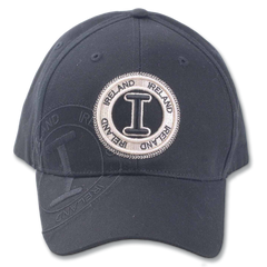 Robin Ruth Ireland Stamp Cap - Black
