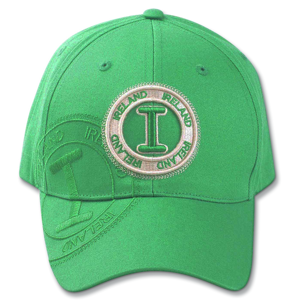 Ireland Stamp Cap - Fuchsia, Green, Beige or Black