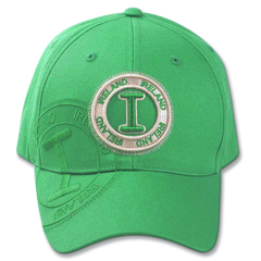 Robin Ruth Ireland Stamp Cap - Green