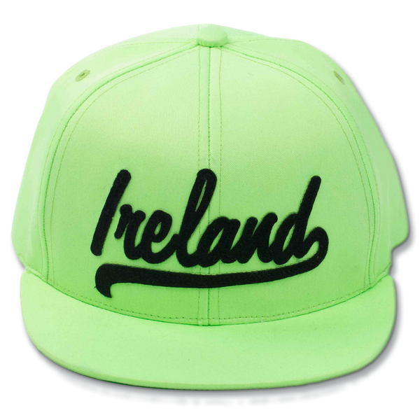 Ireland Snapback - Neon Green or Neon Pink