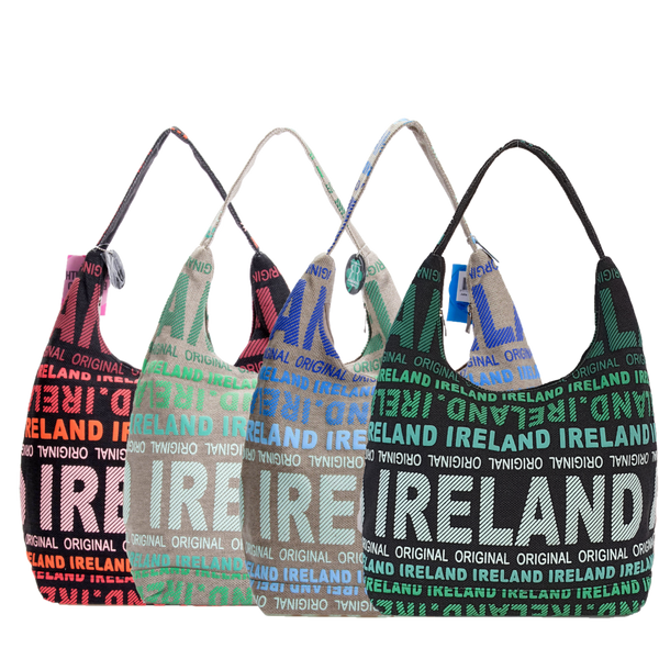 Ireland Canvas Shoulder Bag - 4 colors
