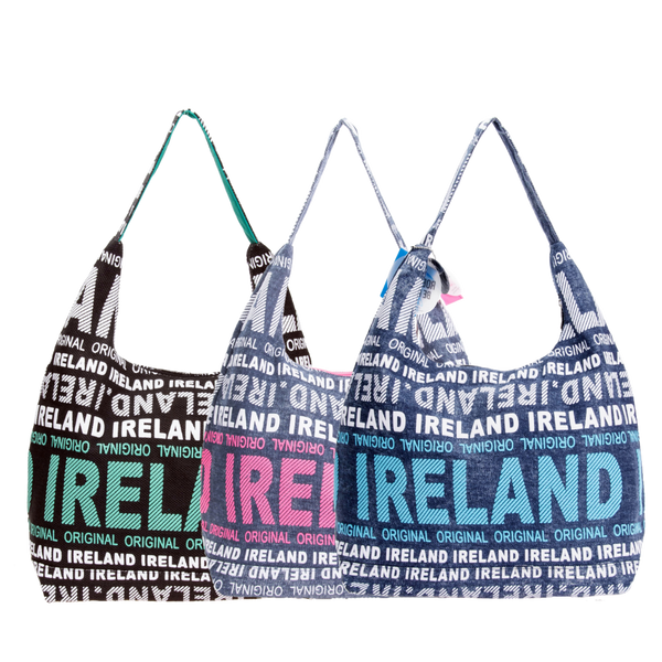 Ireland Denim Shoulder Bag - 3 Colors