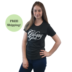 Galway Girl T Shirt Gray