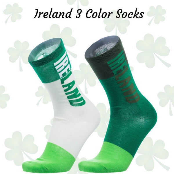 Ireland 3 Color Sock