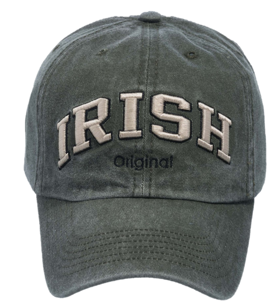 Irish - Original Cap - Olive, Black & Blue